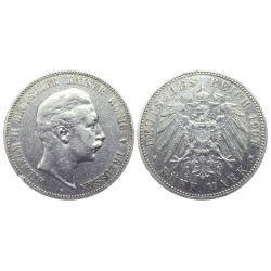 5 Mark, 1907. Wilhelm II