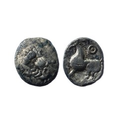 Celtic drachm, Danubian Celts