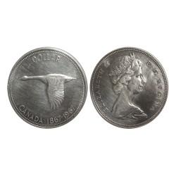 1 Dollar, 1867 - 1967, Elizabeth II