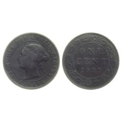 ONE CENT, 1897. VICTORIA