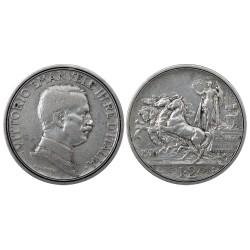 2 Lire, 1916. Vittorio Emanuele III (2)
