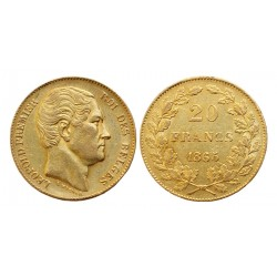 Leopold 20 franaka 1865.