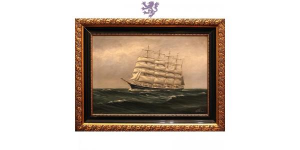Jedrenjak, ulje na platnu (1870 - 1950)