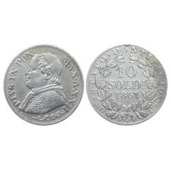 10 Soldi, 1867.