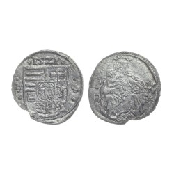 Denar, Louis II, 1521.