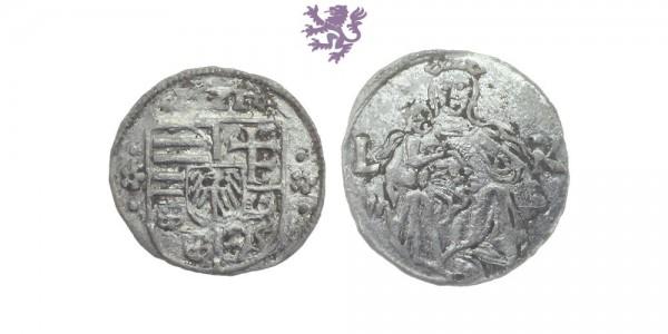 Denar, Louis II, 1516 - 1526