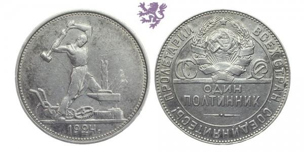1 Polttinik, 1924.