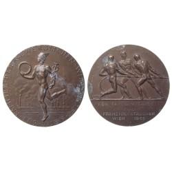 Medalja Für treue Mitarbeit 1965.