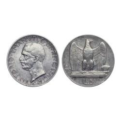 5 Lire, 1929. R