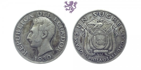 1 Sucre, 1930.