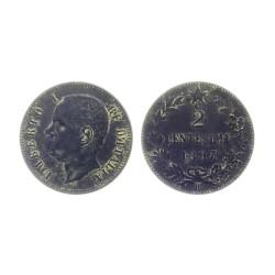 2 centisimi, 1897.