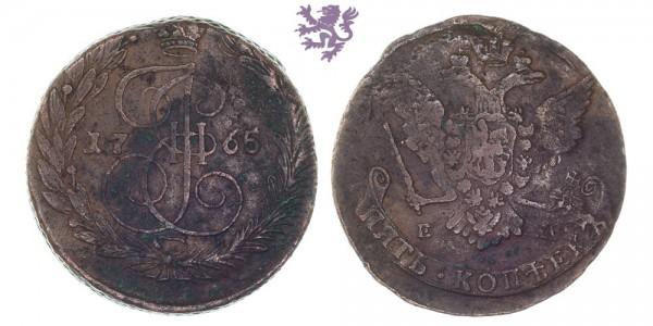 5 Kopecks, 1765.