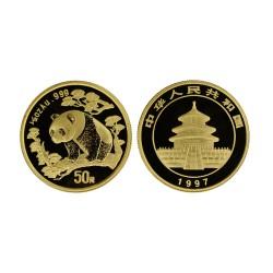 1/2 oz Panda, 1997. large date MS