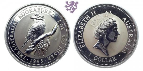 1oz kookabura 1995.
