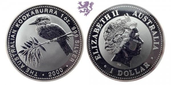 1oz kookabura 2000.