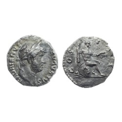 Hadrian AR Denarius