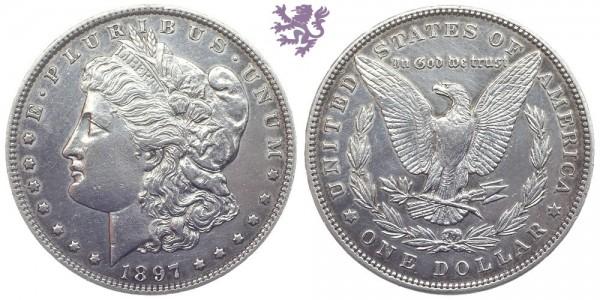 1 Dollar, 1897.