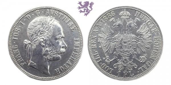 1 Florin, 1886.