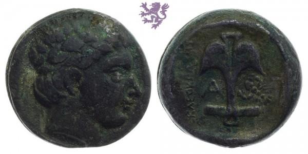 Tetradrachm, Apollonia Pontika