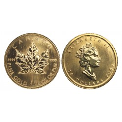 1/4oz Maple Leaf 2003.