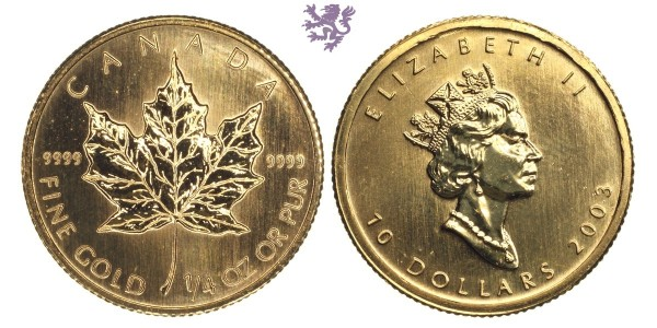 1/4 Maple Leaf