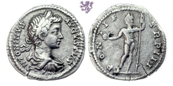 Caracalla AR Denarius