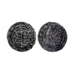 Denar, 1614. Mathias II