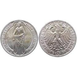 3 mark, 1928. 900th Anniversary of Naumburg